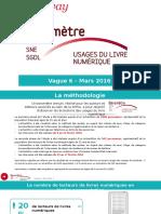 6e édition du Baromètre SOFIA/SNE/SGDL sur les usages du livre numérique