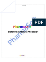 PharmaSoftSQL Architecture and Design