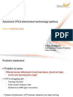 Advance VPLS Technology Atachements Options