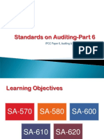 Standards on Auditing Part 6 2