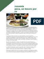 La Gastronomía Tamaulipeca