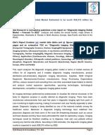 Diagnostic Imaging Global Market-Forecast to 2022