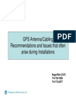 GPS Antenna Cable