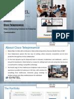 Cisco Telepresence Presentation