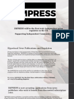 IMPRESS Information for Centre for Community Journalism