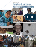 Report of the Transitional Justice and Reconciliation Commission