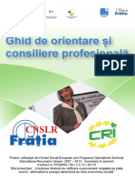 Ghid Consiliere in cariera