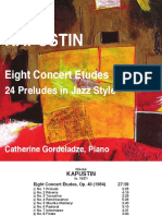 Kapustin 8 Concert Etudes 24 Preludes