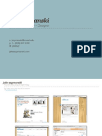 Jake Szymanski - Interactive Strategist + Designer - Portfolio Deck