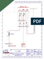 Diagrama Unifilar Celdas Para Transferencia Automatica