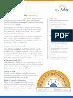 Datasheet Workday Financial Management