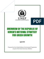 UNEP Report on Korea's Green Growth