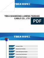 TBEA Shandong Cable