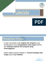 Pemrogramman Fungsi pada bahasa C untuk mehasiswa