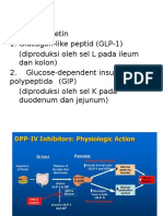 DPP – IV Inhibitors