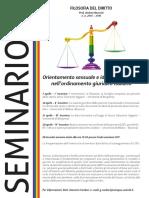 Orientamento sessuale e identità di genere nell'ordinamento giuridico italiano