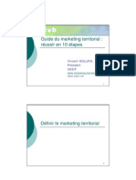 PPT de présentation marketing territorial en 10 étapes