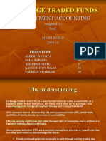 Exchange Traded Fund Ppt