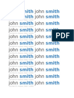 ResumeTemplate 1john smith john smith 1234 Main St • Anytown, State • 123456
