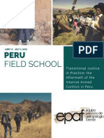 Peru Field School 2016 Brochure