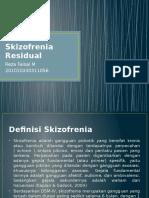 Skizofrenia Residual