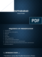 Jaffarabad District Profile