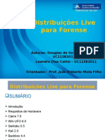Distribuição live forense