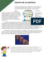Importancia de La Quimica __ Imprimir