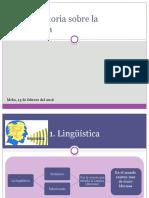 Breve Historia Sobre La Lingüística