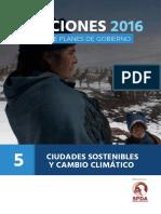 Analisis SPDA - Ciudades Sostenibles y Cambio Climatico