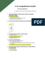 Evaluación Diágnostica Bloque 2 Semestre 2