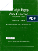 The World History Slide Collection Special Guide