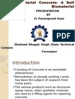Bacterial Concrete ppt