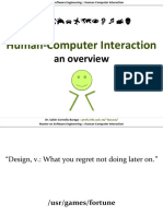 Hci01 HumanComputerInteraction Overview