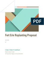 fort erie replanting proposal