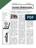 302 - Laicado Dominicano Fevereiro 2003