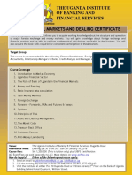 BROCHURE Financial Markets & ACI Dealing Certificate