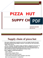 Supply Chain of Pizza Hut