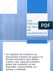 Precisión de Registro de Inventarios