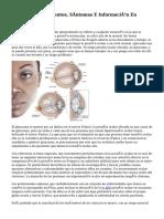 Glaucoma Tratamientos, Síntomas E Información En DMedicina