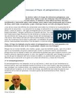 Pelagianismo - La Herejía Que Más Preocupa Al Papa