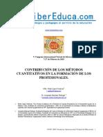Historia de Los Metodos Cuantitativos