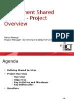 Government of Kenya IT Shared Services for Media Workshop Apil 23