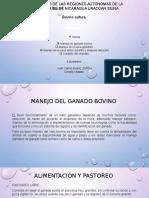 Cuido y Manejo Del Bovino