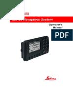 Mx420 Operator Manual