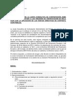 Recomendación JCCA Efecto Directo Post Comisión Permanente 15 Marzo 2016