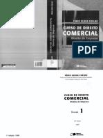 Curso de Direito Comercial_13ª Edição_Fábio Ulhoa Coelho