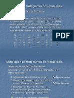 Elaboración de histogramas