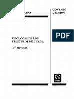 2402-1997 Tipologia Veh. Carga