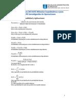 Formulario de Estadística y Matemáticas